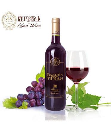 布拉格维纳2014干红葡萄酒 BALCON DE LASVINS JOVEN